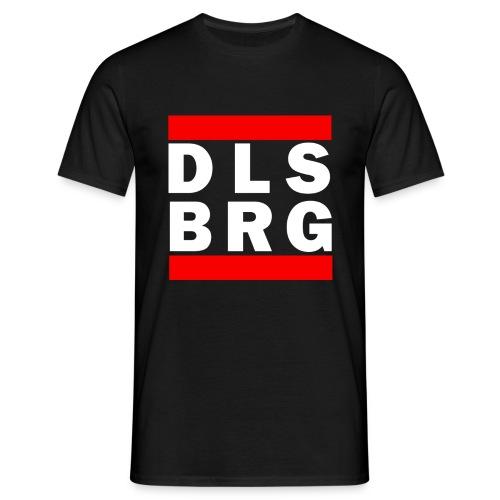 DLSBRG Männer T-Shirt schwarz - Männer T-Shirt