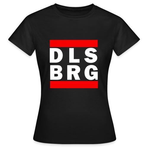 DLSBRG Frauen T-Shirt schwarz - Frauen T-Shirt