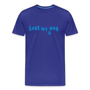 Men's Logo T (Blue Print) - Men's Premium T-Shirt