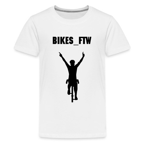 Teenage Bikes_FTW Winning T-Shirt - Teenage Premium T-Shirt