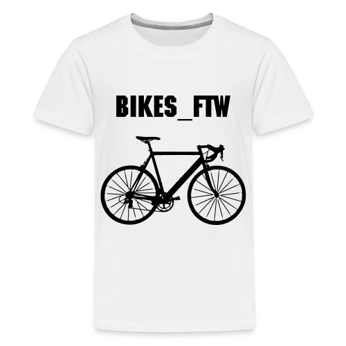 Teenage Bikes_FTW Cycling T-Shirt - Teenage Premium T-Shirt