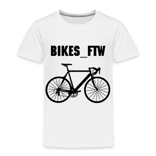 Kid's Bikes_FTW Cycling T-Shirt - Kids' Premium T-Shirt