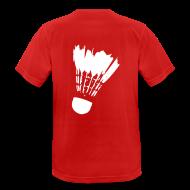 T-Shirts ~ Männer T-Shirt atmungsaktiv ~ Federball