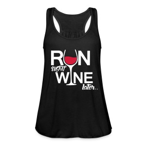 Run Now Wine Later Naisten Hihaton - Naisten tankkitoppi Bellalta