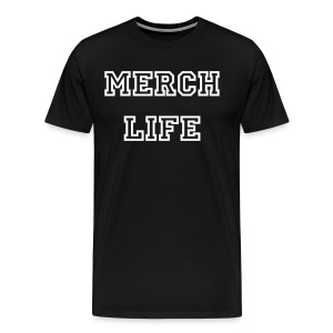 Merch Life Shirt - Mannen Premium T-shirt