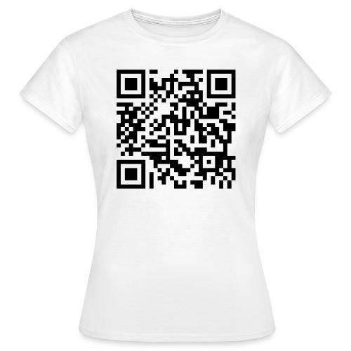 Rick Roll QR-Code - Women's T-Shirt