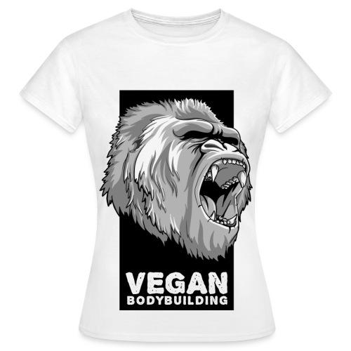 VEGAN BODYBUILDING - Women's T-Shirt