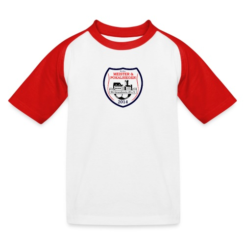 Double-Tshirt Kids - Kinder Baseball T-Shirt