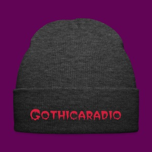 Beanie grey with logo Gothicaradio - Winter Hat