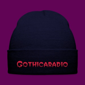 Beanie navy with logo Gothicaradio - Winter Hat