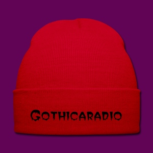 Beanie red with logo Gothicaradio - Winter Hat
