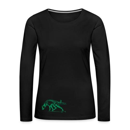 Pulldog Langarm-Shirt für die sportliche Ladie - Frauen Premium Langarmshirt