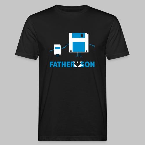 Shirt Father and Son - Männer Bio-T-Shirt
