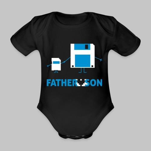 Baby-Body Father and Son - Baby Bio-Kurzarm-Body