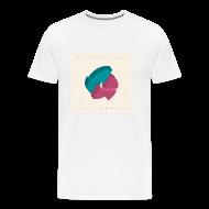 T-Shirts ~ Men's Premium T-Shirt ~ Men's Artwork T - Rhythm Plate