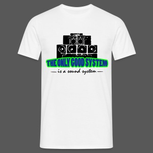 Shirt Sound System - Männer T-Shirt