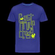 T-Shirts ~ Men's Premium T-Shirt ~ Men's 10 Year T (Neon Print)