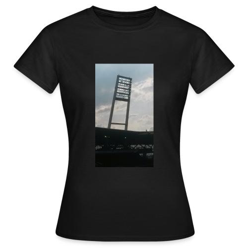 Flutlicht -- Weserstadion - Frauen T-Shirt