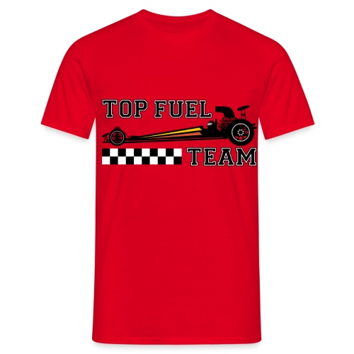 top dragster team - Men's T-Shirt