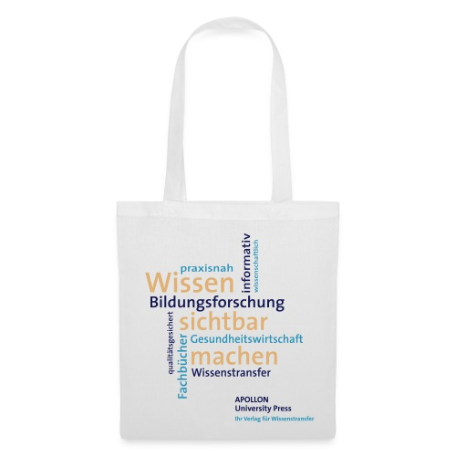 Stofftasche im APOLLON University-Press-Design - Stoffbeutel