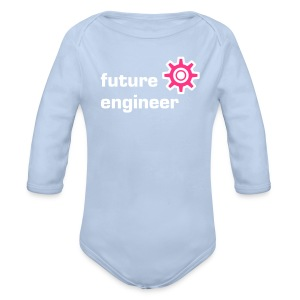 Future Engineer - Organic Longsleeve Baby Bodysuit