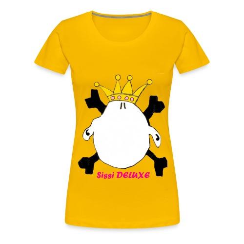 SIssI DELUXE - T-Shirt Logo - Frauen Premium T-Shirt