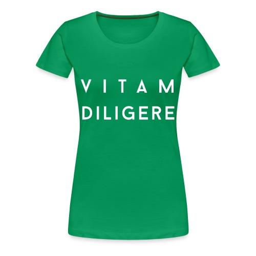 Vitam Diligere - Women's Premium T-Shirt