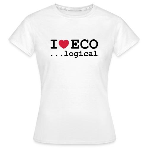 I love Eco Women - Women's T-Shirt