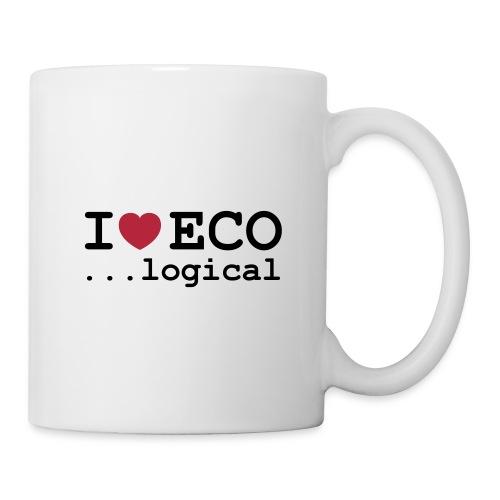 I love Eco mug - Mug