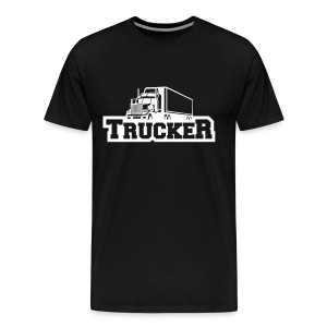 Trucker Shirt Black - Männer Premium T-Shirt