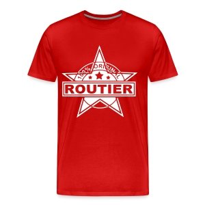 Routier red/white - Männer Premium T-Shirt