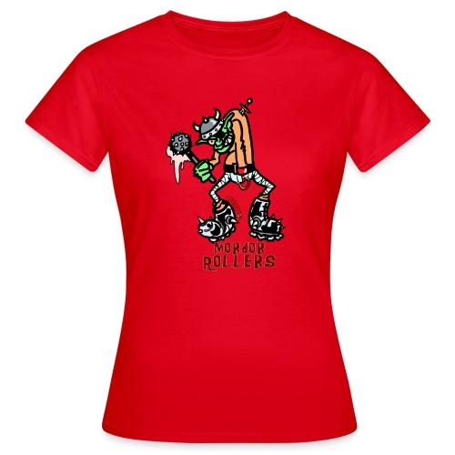 Camiseta mujer Mordor Rollers - Camiseta mujer