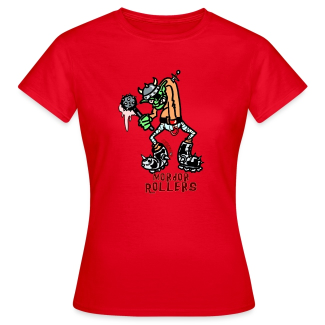 Camiseta mujer Mordor Rollers