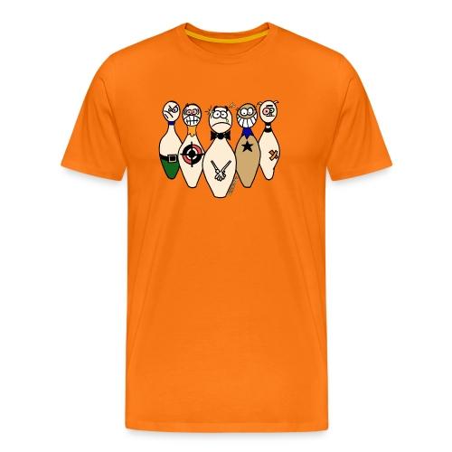 Camiseta Bolos Compungidos - Camiseta premium hombre