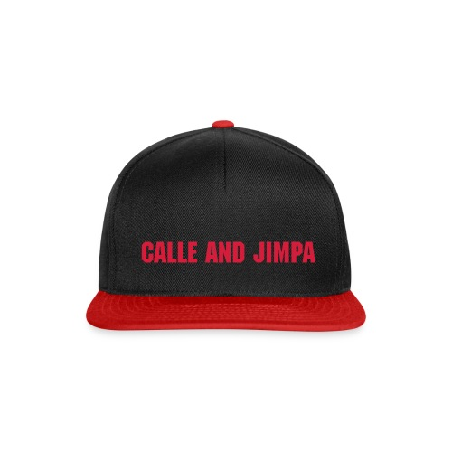 Calle and Jimpa - Keps [Adjustable Red Edition] Beechfield - Snapbackkeps