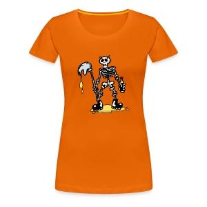 Camiseta mujer Skeleton - Camiseta premium mujer
