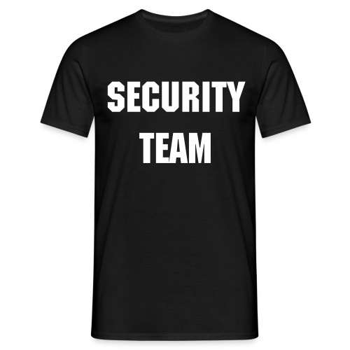 Security Shirt Black - Männer T-Shirt