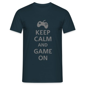 IMoRTaL Shirt  Keep Calm   - Männer T-Shirt