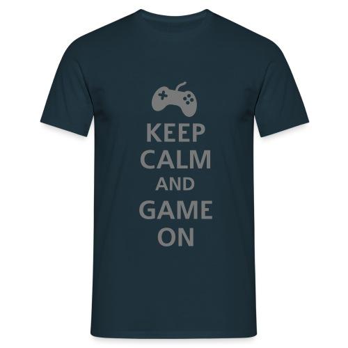 IMoRTaL Shirt  Keep Calm   - Männer T-Shirt