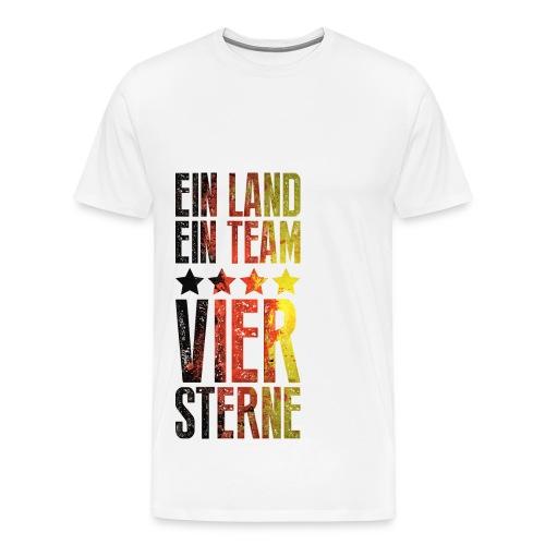 2014 Ein Land, Ein Team, 4 Sterne - Männer Premium T-Shirt