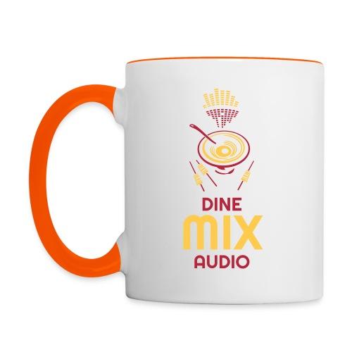 Dine Mix Audio Mug - Tasse zweifarbig