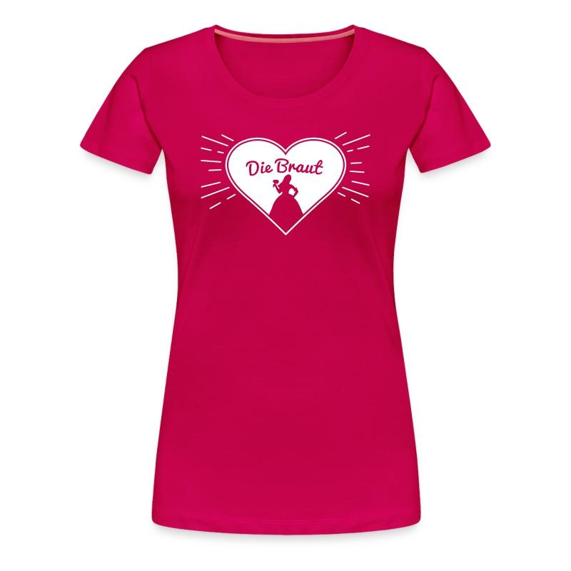 Die Braut - Junggesellinnenabschied Shirt - Frauen Premium T-Shirt