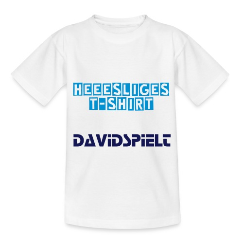 HEEESLIGES T-SHIRT für Teenager - Teenager T-Shirt
