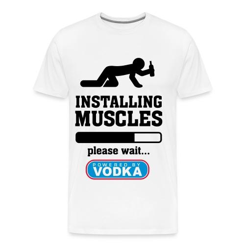 Re-Installing Muscles - Men's Premium T-Shirt