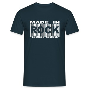 Made in Rock Code W TS H B&C - T-shirt Homme