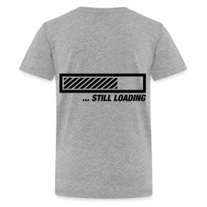 Nerd Shirt Idea Is Loading - Teenage Premium T-Shirt