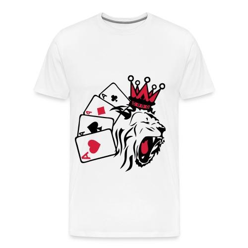 lion' king husler t-shirt - Men's Premium T-Shirt