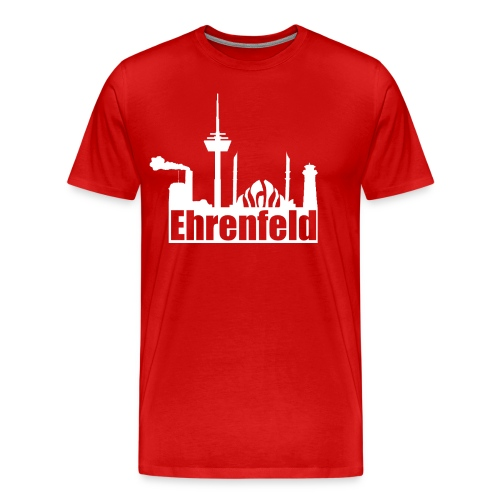 Ehrenfeld in rot - Männer Premium T-Shirt