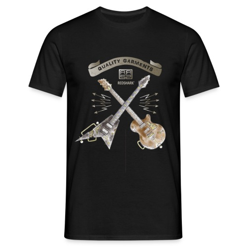 REDSHARK guitars - T-shirt Homme