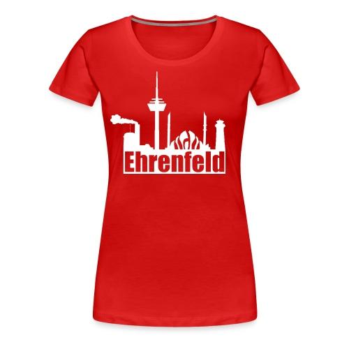 Ehrenfeld in rot - Frauen Premium T-Shirt